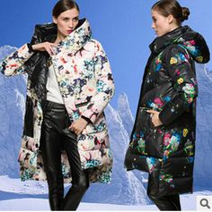 90% duck Down Coat Parka women's print medium-long down coats $155.38   => Save up to 60% and Free Shipping => Order Now! #fashion #woman #shop #diy  http://www.yiclothes.net/product/brand-2016-winter-jacket-women-down-jackets-90-duck-down-coat-parka-womens-print-downs-outerwear-medium-long-down-coats/
