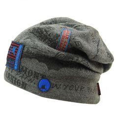 Hombres del Invierno del Sombrero Gorras Skullies Capó Sombreros de  Invierno Para Hombres de Las Mujeres 7d4366bd16b