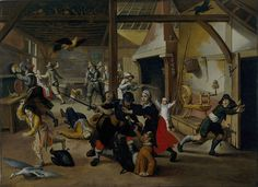 Soldiers plundering a farm during the thirty years' war by Sebastian Vrancx.-Vrancx Soldiers Plundering - Thirty Years' War - Wikipedia, the free encyclopedia