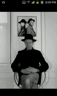 david bowie and william s boroughs