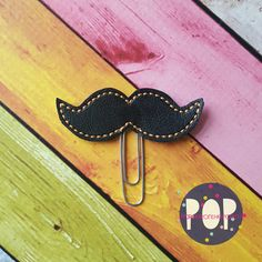 Digital Download - Mustache Planner Clip