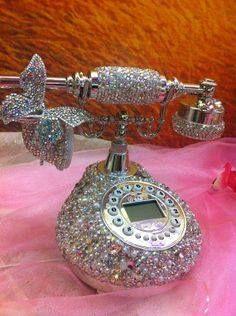 #shiny #retro #telephone