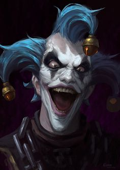 overwatch art C Home junkrat Joker Clown, Joker Art, Creepy Clown, Joker Comic, Creepy Art, Dark Fantasy Art, Dark Art, Overwatch, Junkrat Fanart
