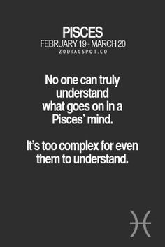 Pisces Love, Astrology Pisces, Zodiac Signs Pisces, Pisces Quotes, Zodiac Mind, Zodiac Star Signs, Zodiac Facts, Astrology Numerology, Horoscope For Pisces