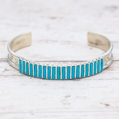Zuni Turquoise Track Cuff | Bohemian Gypsy Festival Jewels | Indie and Harper