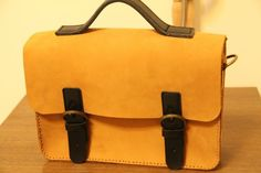 Gotta love a well-made leather satchel