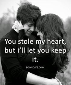 You stole my heart, but I'll let you keep it # . - Anna Kirchner - You stole my heart but I'll let you keep it . Christian Family You stole my heart, but I'll Cute Love Quotes, Famous Love Quotes, Deep Quotes About Love, Beautiful Love Quotes, Crafts Beautiful, Top Quotes, Couple Quotes, Life Quotes, Life Sayings