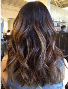 Multicolor Ombre hair