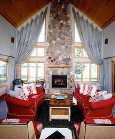Living Room by Shelly Riehl David | Living Rooms | Photo Gallery Of Beautiful Decorated Rooms