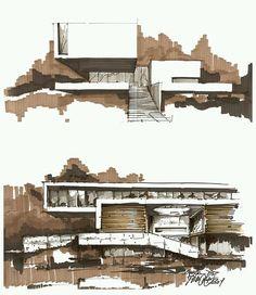 #architecture_hunter  Sketch by Pawel Podwojewski