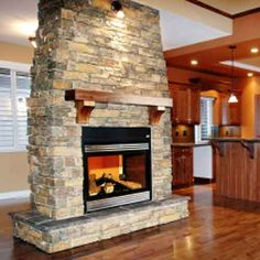 stone fireplaces | Stone Fireplaces, 6 Impressive Stone Fireplace Design Pictures