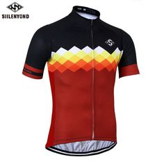SIILENYOND Gannon Quick Dry Cycling Jersey Summer Short Sleeve MTB Bike  Clothing Ropa Maillot Ciclismo Racing 747b165c8