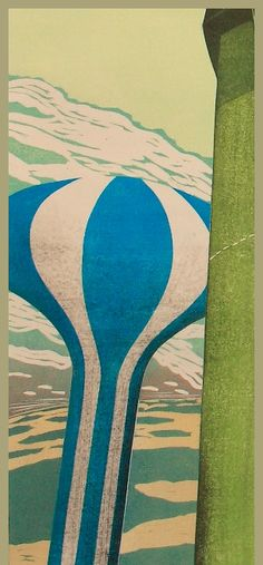 Ralph Kiggell - Contemporary woodblock prints