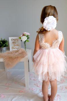 """""""The Alicia"""" Flower Girl Dress"""
