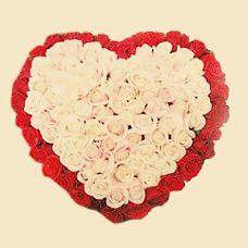 Heart shaped flowers for your love | Flickr - Photo Sharing!|  http://www.onlineflowersgift.com