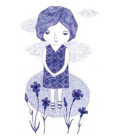 "illustrated by ""nathalie choux"" seen on vlinspiratie.blogspot.com"