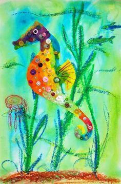 Preschool Sea Horse Study | Preschool Arts and Sciences Event Sharing Site