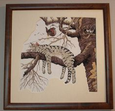 Mat for embroidery Embroidery, Cats, Frame, Ideas, Home Decor, Picture Frame, Needlepoint, Gatos, Decoration Home