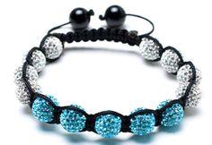 Shamballa Bracelet Meaning of Shamballa Bracelets. Spiritual Home of Shamballa Bracelet. Cute Bracelets, Jewelry Bracelets, Bangles, Shambala Bracelet, Blue Crystals, Bracelet Patterns, Turquoise Bracelet, Great Gifts, Diamond