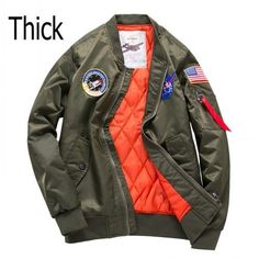 Hot sale 2017 Autumn Ma1 Bomber Jackets Men Army Green Military Windbreaker Casual Kanye West Male Flight Jacket Pilot Air
