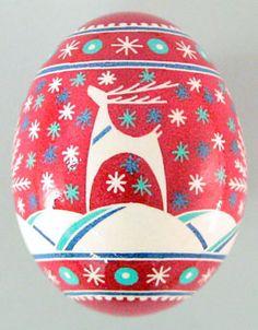 Ornement Oeuf de Noël // Weihnachten // Weihnachtsverzierung // Christmas Egg Ornament // Ornamento Di Natale