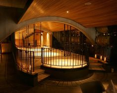Inside Wither Hills Winery, Marlborough, NZ