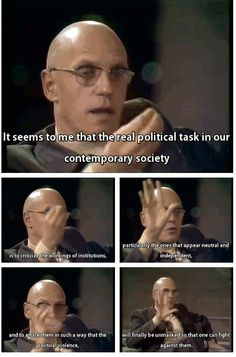 michel foucault - 1971 via: http://cannibalyaoi.tumblr.com/post/52481870262