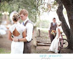 Vintage DIY Fall Wedding. I love pretty much everything about this wedding. I want to take this and make it my own.