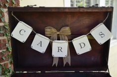 Cards banner sign suitcase cards banner by SgtPeppersHeartsClub, $10.00