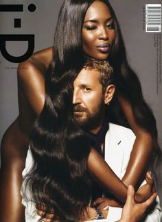 Naomi Campbell and Stefano Pilati by Inez and Vinoodh, 2008.