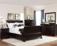 Homelegance Inglewood Sleigh 4pc Storage Bedroom Collection Las Vegas  Furniture Online   LasVegasFurnitureOnline   Lasvegasfurnitureonline.com