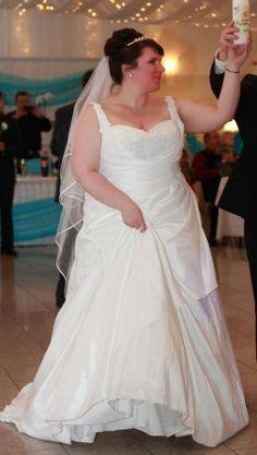 Weise wunderschönes Kleid in Gr. 46-50 http://www.wunsch-brautkleid.de/Hochzeitskleid-Weise-Andere-Farbe-groesse-48-Gebraucht-fuer-399euro-156.html