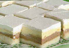 Lake kao snježne pahulje! Sastojci Biskvit 6 bjelanjaka 6 žlica šećera 6 žlica brašna 300 ml mlijeka Krema 6 žutanjaka 6 žl...