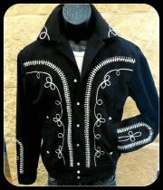 Rockmount Ranchwear embroidered twill mariachi style western  jacket