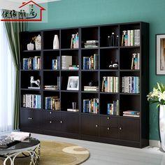 特价单个书柜 自由组合简易带门书柜酒柜儿童书架书柜组合书橱-淘宝网