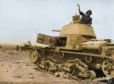 Italian M13/40 medium tanks in the western desert, 1941-42. Weighting only 14 tons, by Allied standards the Italian M13/40 tank was seen as a light tank. For the unfortunate crews who manned it, it was nothing short of a death-trap. Its...