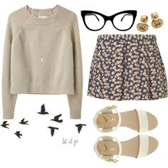 Cute Nerdy Outfit