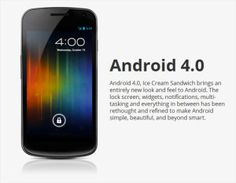 Android Ice Cream Sandwich OS REVIEW