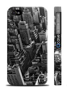 Чехол QCase для iPhone 4 | 4S New York / Нью Йорк (пластиковый чехол, защитная пленка, заставка) купить в интернет-магазине BeautyApple.ru.
