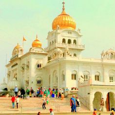 Gurudwara Bangla Sahib , New Delhi Hill Station, New Delhi, Golden Age, Taj Mahal, Religion, Culture, Building, Travel, Indie