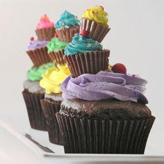 Fun Birthday Cupcakes!