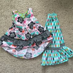 Check out this listing on Kidizen: ~Jelly The Pug~ Ruffle Pant Outfit 3T via @kidizen #shopkidizen