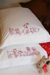 Picture of Playful Pups Pillowcases