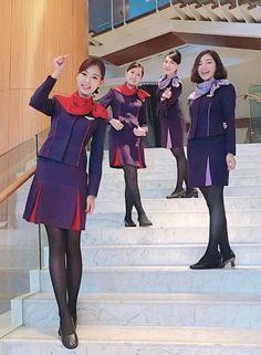 Flight Girls, Airline Uniforms, Wedding Socks, Asian Babies, Cute Socks, Girls In Leggings, Cabin Crew, Flight Attendant, Beautiful Legs