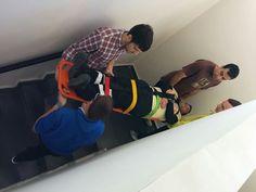 Movilizaciones por escaleras