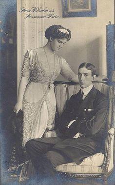 Großfürstin Marie von Russland mit Prinz Wilhelm von Schweden | Flickr - Photo Sharing!