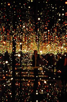 Yayoi Kusama - installations