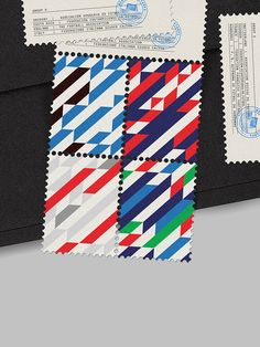 World Cup Stamps 2014 by MAAN Design Studio via @thedieline