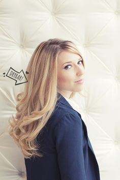 Jennie of Going West with her fresh #drybar blowout