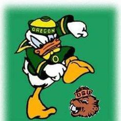 Oregon Ducks,sorry to my beaver friends but this is awesome